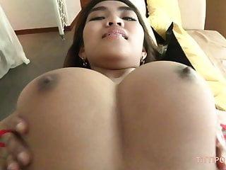 Big busty naturals on hot Thai babe