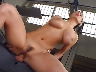 Stacked Ornelia knows a good ride, upscaled to 4K