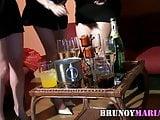 brunoymaria acaba en orgia una despedida de solteras