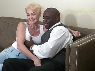 Nympho Classic Hard Black Man Fucks Blonde
