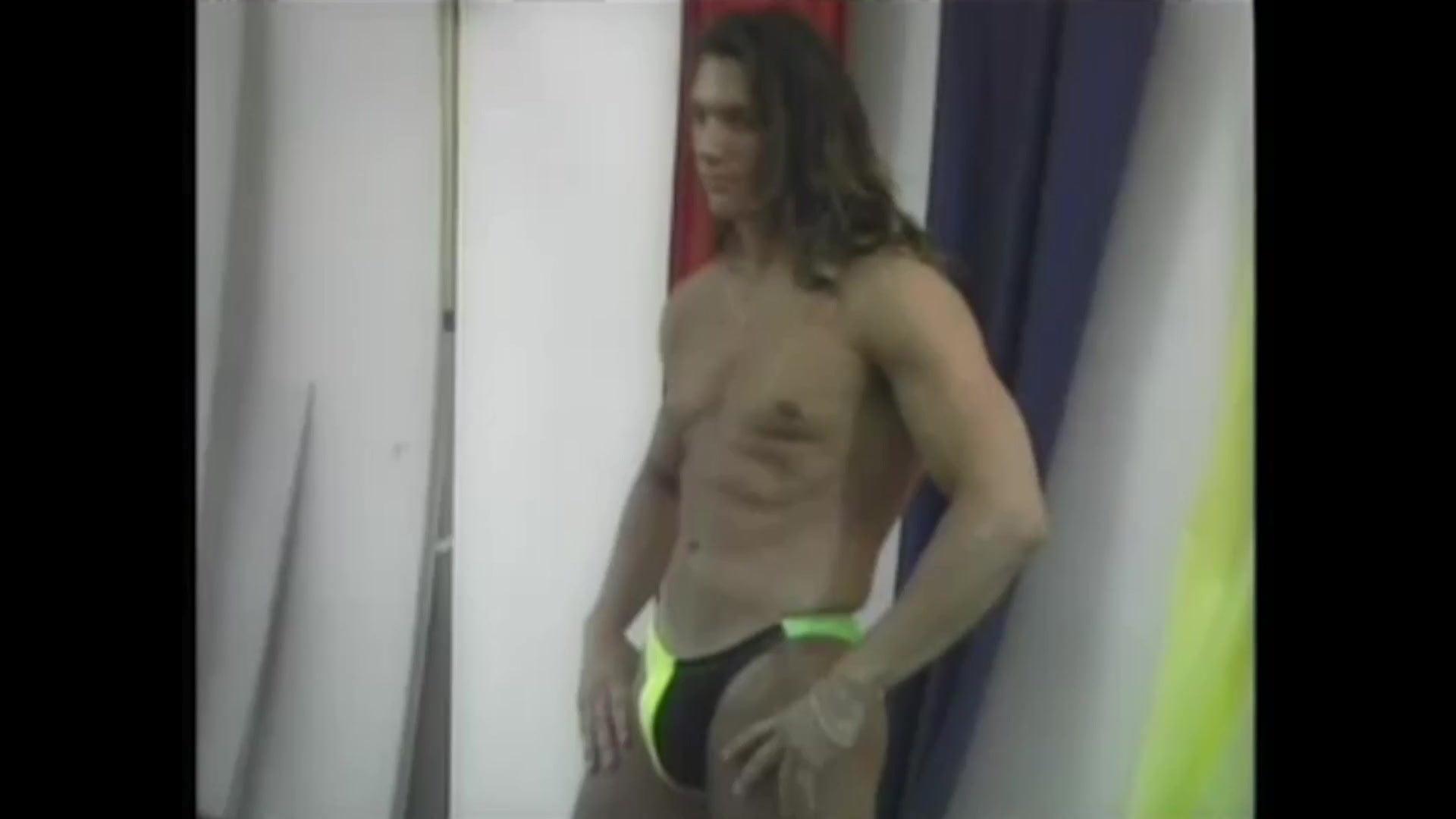 Steve Ryder a.k.a. Danny Celaya is a thong male model
