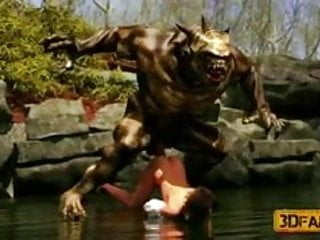 Creatures fuck babes...