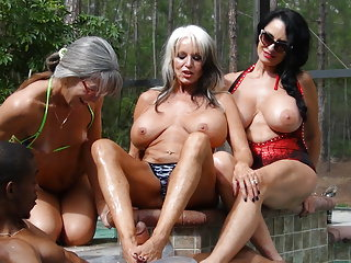 Cock - Three a Milfs and PenisColada Black