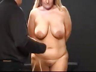 A little breast bondage