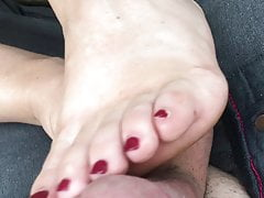 Feet Legs Warm Wife