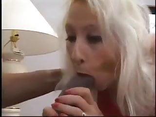 Blonde mom sucks and fuck...