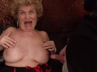 Milf Mature Party video: HAPPY NEW YEAR!!! Grandma Effie's New Year Orgy