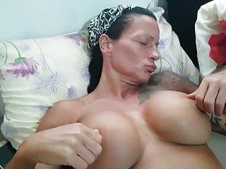 Wife masturbating in holiday
