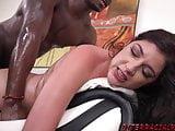 Miranda Miller gets rough black cock pounding
