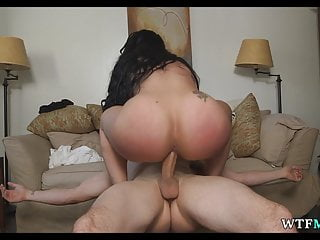 Huge Fat ass on Maid