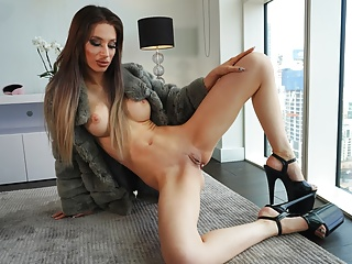WHORNYFILMS.COM- Crazy gorgeous anal sex pounding whore in fur