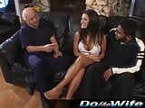 Austin Kinkaid takes cock in front of her husband