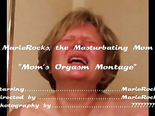 Moms Ultimate Orgasm Compilation di MarieRocks