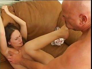 Lusty gen deep throats cock after toe sucking...