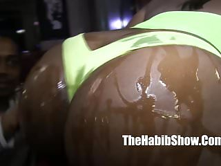 Ambitious booty sexy thick booty fucked by stripper...
