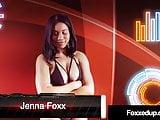 Young Black Jenna Foxx & Tattooed Red Savana Styles Wrestle!