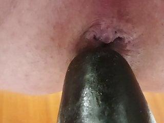 XL Anal Dildo 36 x 9 cm Deep into my Ass