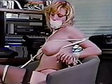 Television narrator gagged