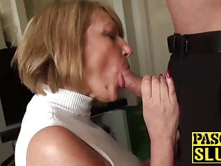 Slut amy needs a rough pounding with a...
