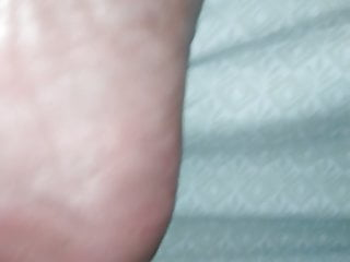 Wife rough dry soles