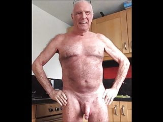 Grandpa is naked...