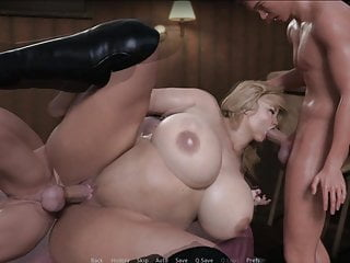 Street obe bbw and two big dicks 25...