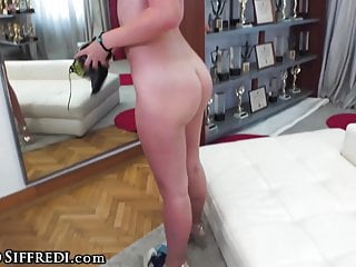 Stuffs his huge cock into ass at casting...
