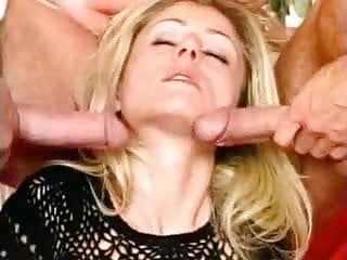 British slut Cody gets fucked by 2 germans