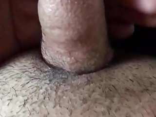 Dick dripping pre cum...