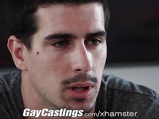 Gay castings straight stud fucked for money...