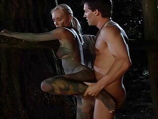 Nudist huntress Magdi stalks a hard cock, upscaled to 4K