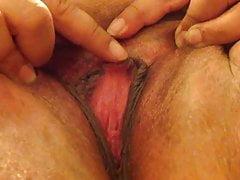 Swollen clit rub