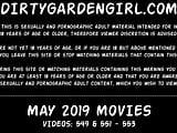 MAY 2019 updates at Dirtygardengirl - anal extreme destructi