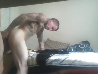 Sucks and takes raw cock...