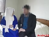 Cocksucking arabian beauty pounded