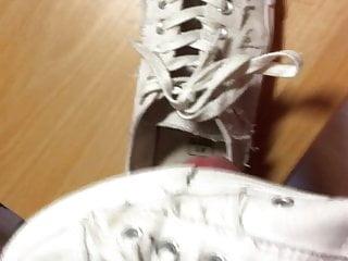 das was die Schuhe und Socken brauchen