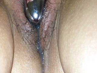 after Asian creampie wife cums