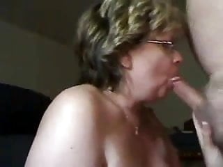 Granny head 14 cum on ending...