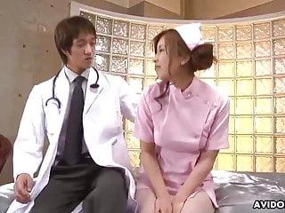 JAV nurse, Ami Kurosawa obtained creampied, uncensored