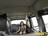 Fake Taxi Lady in pink underwear gets creampied
