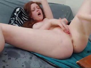 Redhead Rosemary Fuck Machine Webcam