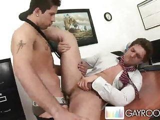 Deep anal office pounding p4...