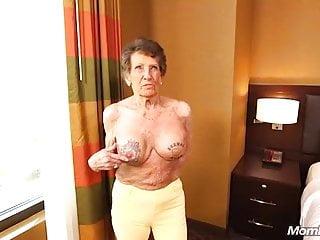 Granny Facial Anal video: granny ass fucked facialized