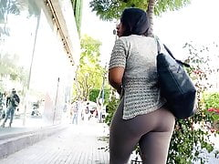 Big Ass Ambling . Brown Leggings