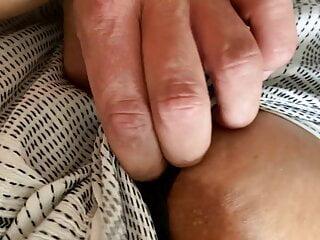 Closeup in die schoene Muschi
