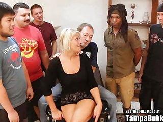 Diversity ANAL Blonde Bang Bukkake Southern MILF