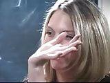 Smoking a Benson & Hedges Menthol