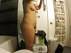 Asian Milf Huge Backside Lengthy Nipples Hairy And Panty