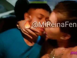 व्हाइट बॉयफ्रेंड मुर्गा निगल पर खूबसूरत भारतीय बेकार है