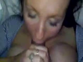 British Milf Sucks It Good